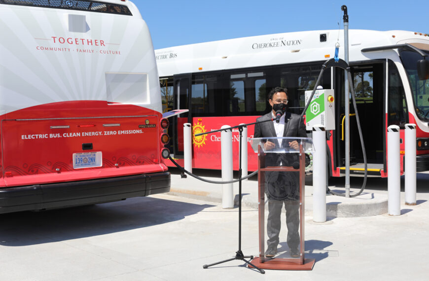 Francis Energy Brings Fast Charging Capability To Cherokee Nation For Its First Electric Buses